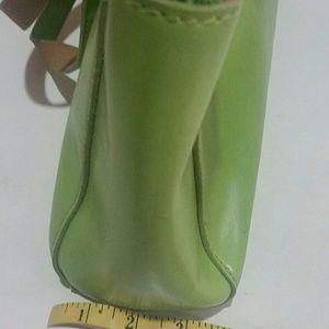 Mondani Bags - Mondani Spring Green Simulated Leather Handbag
